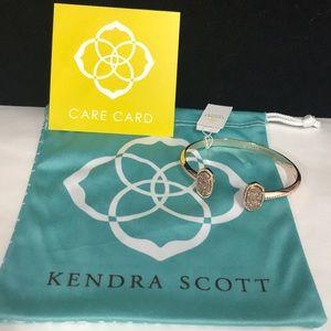 NWT. Kendra Scott Elton bracelet. Druzy stones.